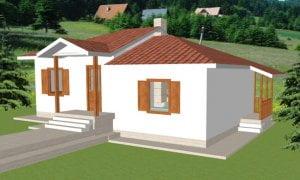 Maker montažna kuća Afrodita