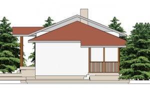 Maker montažna kuća Afrodita - izgled 2