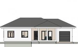 Maker montažna kuća Agata - izgled 1