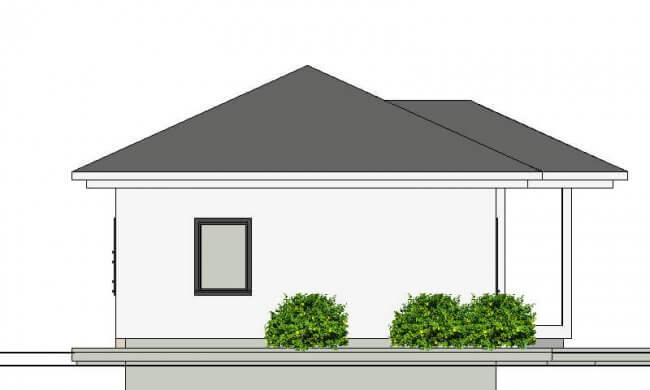 Maker montažna kuća Agata - izgled 2