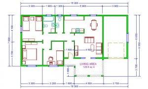 Maker montažna kuća Agata - osnova