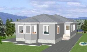 Maker montažna kuća Altina