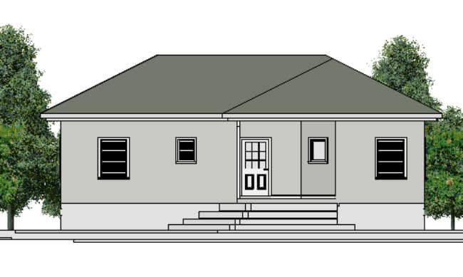 Maker montažna kuća Ana - izgled 1