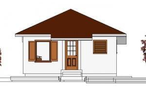 Maker montažna kuća Anastasija - izgled 1