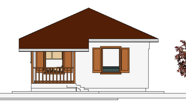 Maker montažna kuća Anastasija - izgled 2