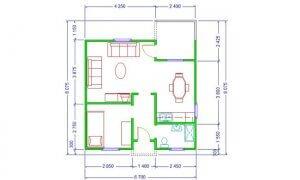 Maker montažna kuća Anastasija - osnova