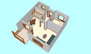 Maker montažna kuća Anastasija - presek