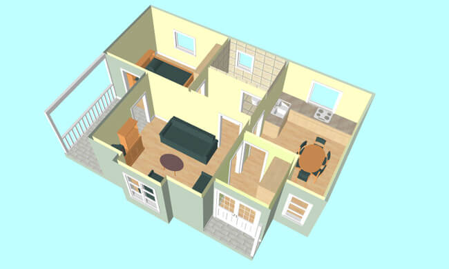 Maker model Andjela - presek