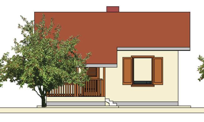 Maker montažna kuća Andrea - izgled 1