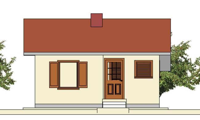 Maker montažna kuća Andrea - izgled 2