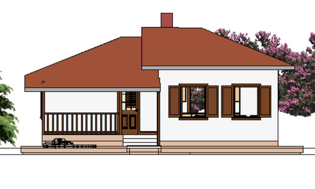 Maker montažna kuća Atina - izgled 1