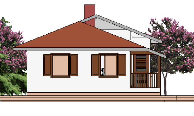 Maker montažna kuća Atina - izgled 2