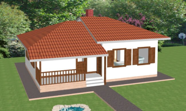 Maker montažna kuća Atina