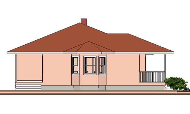 Maker montažna kuća Beka - izgled 2