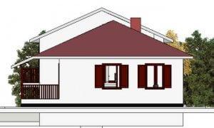 Maker montažna kuća Dajana - izgled 2