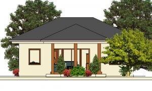Maker montažna kuća Darija - izgled 1