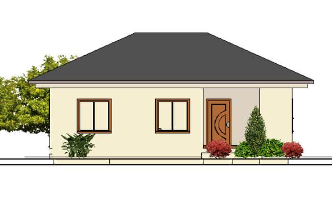 Maker montažna kuća Darija - izgled 2