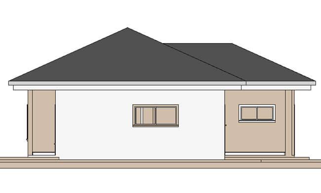 Maker montažna kuća Djina - izgled 2