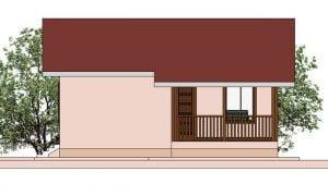 Maker montažna kuća Ema- izgled 1
