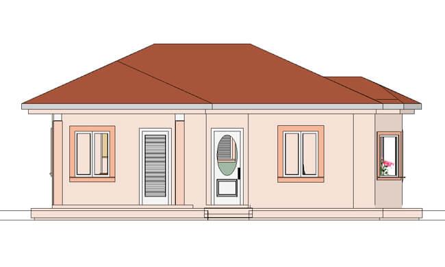 Maker montažna kuća Emili- izgled 1