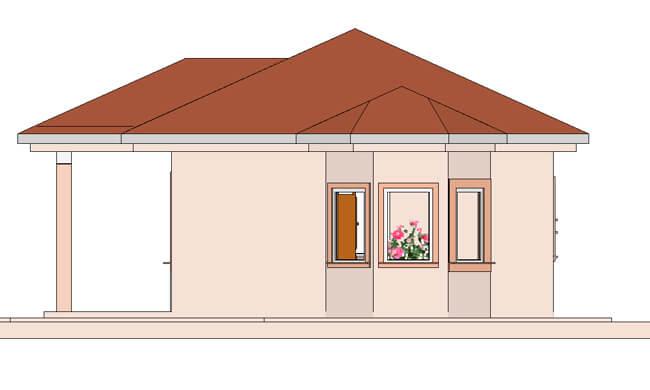 Maker montažna kuća Emili- izgled 2