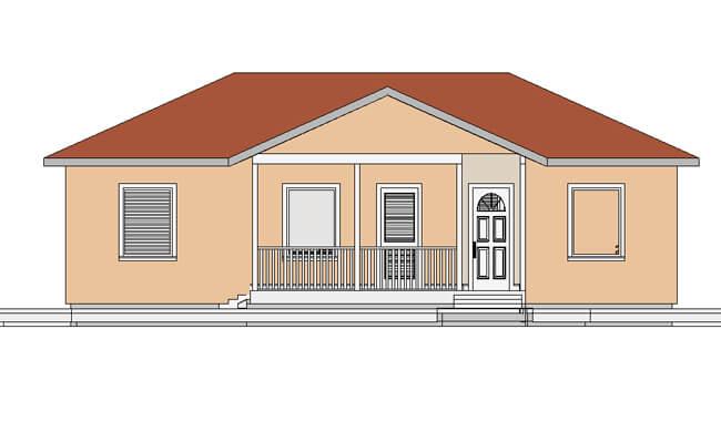 Maker montažna kuća Etida - izgled 1