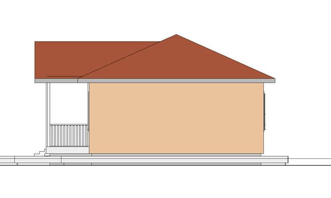 Maker montažna kuća Etida - izgled 2