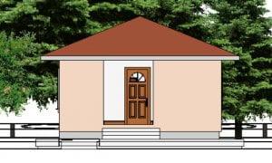 Maker montažna kuća Eva- izgled 1