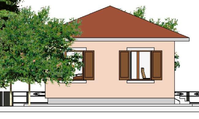 Maker montažna kuća Eva- izgled 2