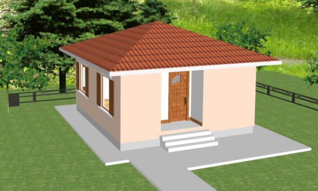 Maker montažna kuća Eva