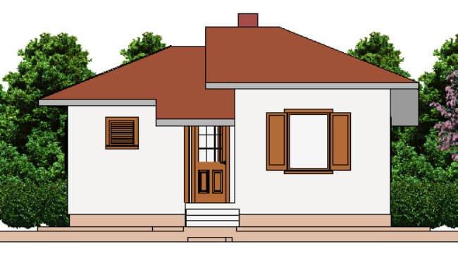 Montažna kuća Galija - izgled 1