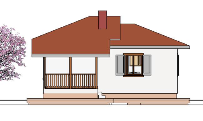 Montažna kuća Galija - izgled 2