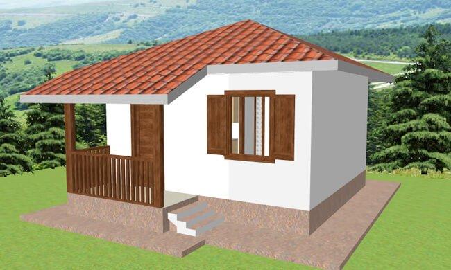 Montažna kuća Helena