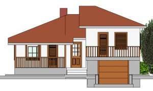 Montažna kuća Hera - izgled 1