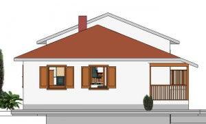 Montažna kuća Hera - izgled 2
