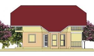 Montažne spratne kuće Ida-izgled 1