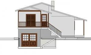Montažna kuća Iskra - izgled 1