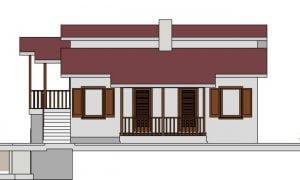 Montažna kuća Iskra - izgled 2