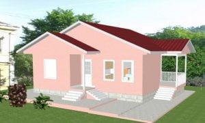 Montažna kuća Iva