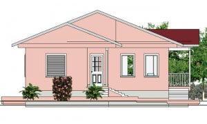 Montažna kuća Iva - izgled 1