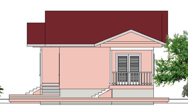 Montažna kuća Iva - izgled 2