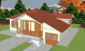 Montažna kuća Ivona