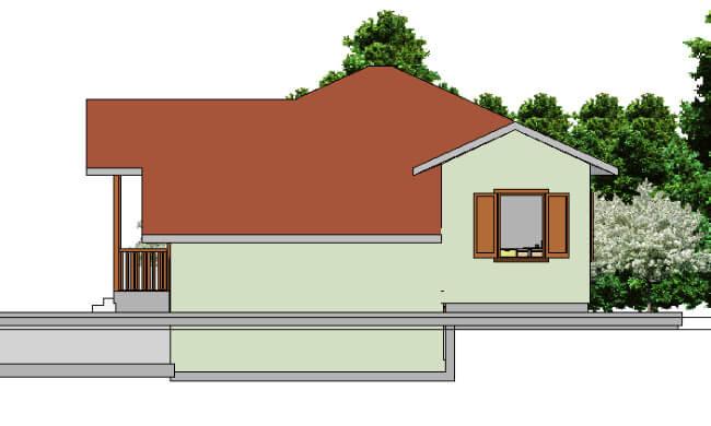 Montažna kuća Ivona - izgled 2