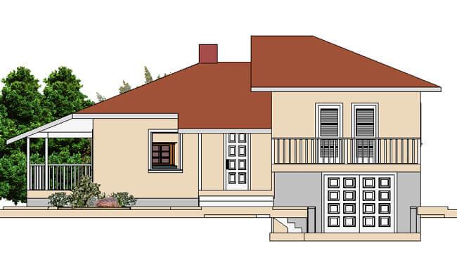 Montažna kuća Jana - izgled 1