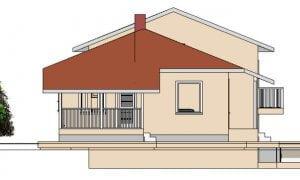 Montažna kuća Jana - izgled 2