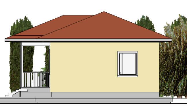 Montažna kuća Jovana - izgled 2