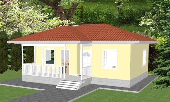 Montažna kuća Jovana