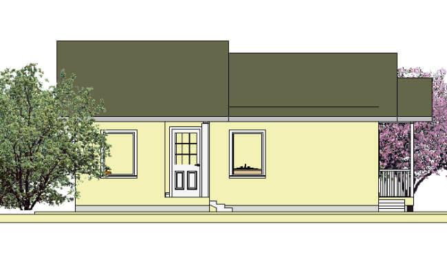 Montažna kuća Katarina - izgled 1