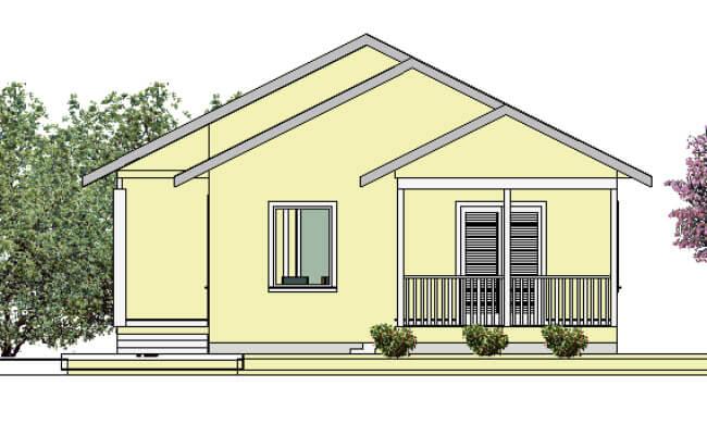 Montažna kuća Katarina - izgled 2