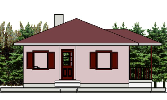 Montažna kuća Klaudija - izgled 1